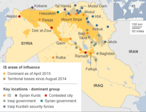 isis mappa 2015