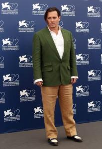 johnny depp film venezia