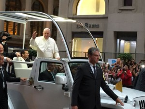 papa francesco new york
