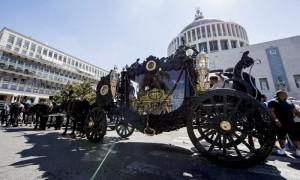 funerale casamonica roma