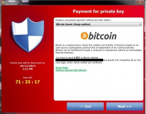 cryptolocker virus bitcoin